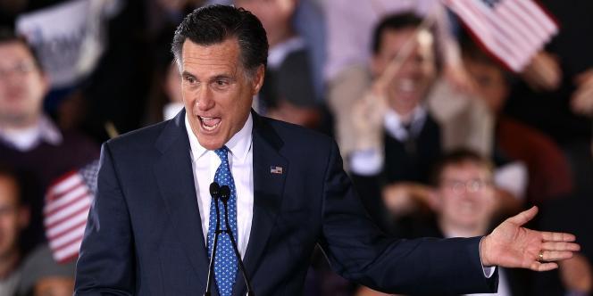Mitt Romney, au Westin Copley Place de Boston, le 6 mars 2012.