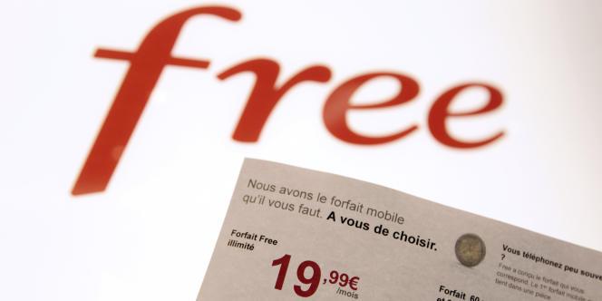 Une facture de Free Mobile.
