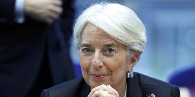 Mme Lagarde se dit satisfaite, jusqu'ici en tout cas, du déroulement des opérations.
