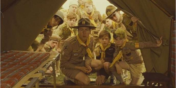 Une scène du film américain de Wes Anderson,