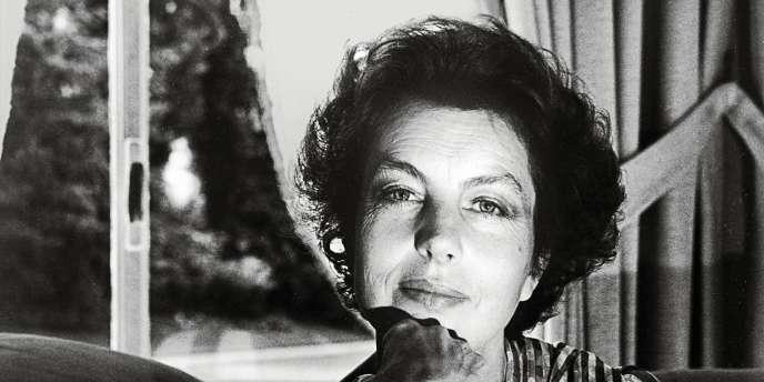 Liliane Bettencourt vers 1980. Sa famille possède plus de 30 % de l'Oréal.