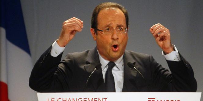 François Hollande, le 10 mars à Paris.