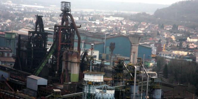 Site d'Arcelor Mittal de Florange.
