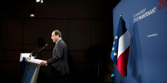 François Hollande, lors d'un discours sur la défense, à Paris, le 11 mars.