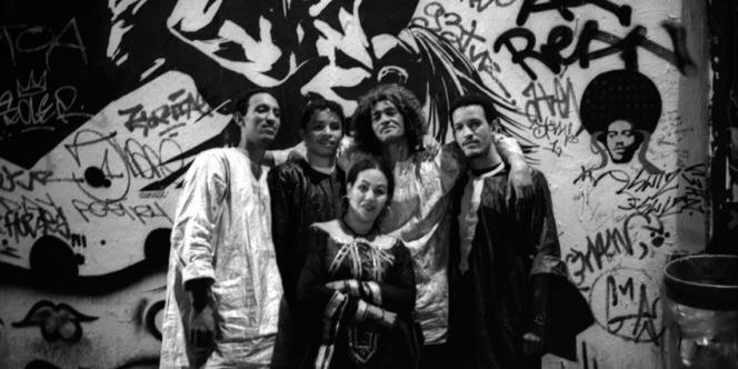 Le groupe Tinariwen.
