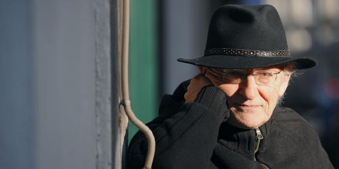 Le dessinateur Jean Giraud alias Moebius à Paris, en janvier 2009.