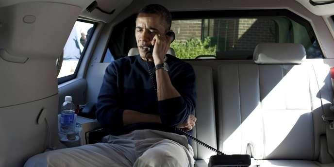 M. Obama  a passé un appel téléphonique aux plus de 65 000 détenteurs de billets non honorés qui étaient invités à assister à son discours.