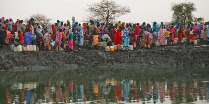 Camp de réfugiés au Soudan du Sud, le 10 mars 2012.