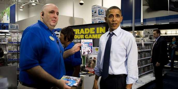 Le président américain Barack Obama achète un jeu conçu par l'éditeur français Ubisoft.
