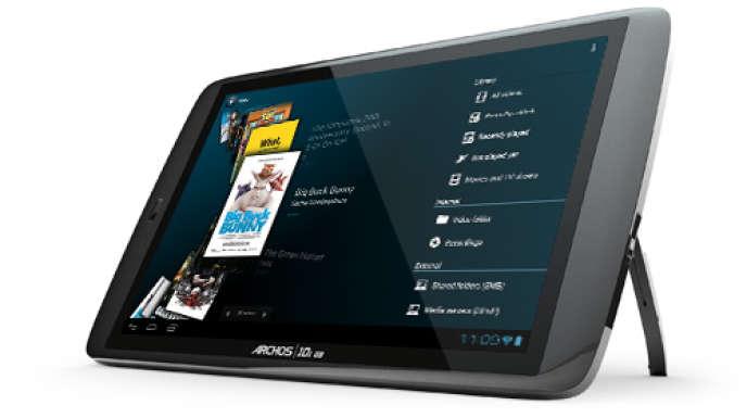 La tablette G9 10.1 d'Archos. Plus de la moitié des internautes européens sont équipés d'au moins deux appareils connectés, selon une étude comparative de Forrester, réalisée dans cinq pays d'Europe sur un panel de plus de 22 000 sondés.