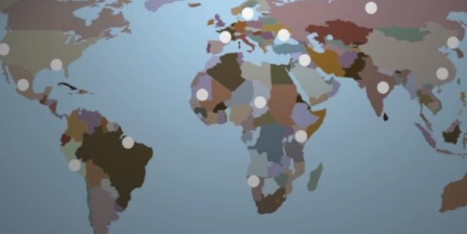 Ushahidi a créé, à l'été 2010, Crowdmap.com pour visualiser où la plate-forme est utilisée dans le monde.
