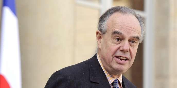Frédéric Mitterrand, le 14 mars 2012 à l'Elysée.