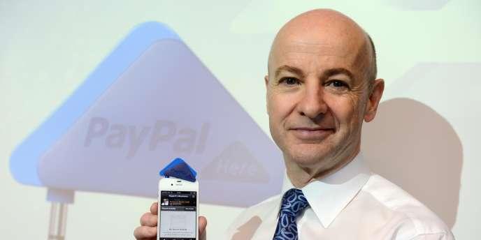 Rupert Keeley, vice-président de PayPal pour l'Asie, présente