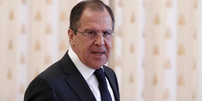 Le ministre russe des affaires étrangères, Sergueï Lavrov, le 16 mars 2012, à Moscou.