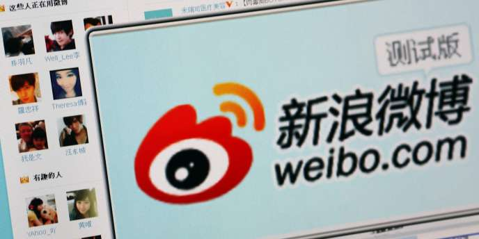 Le site de micromessagerie chinois Sina Weibo.
