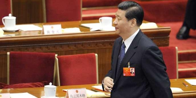 Xi Jinping, le 8 mars 2012, à Pékin.