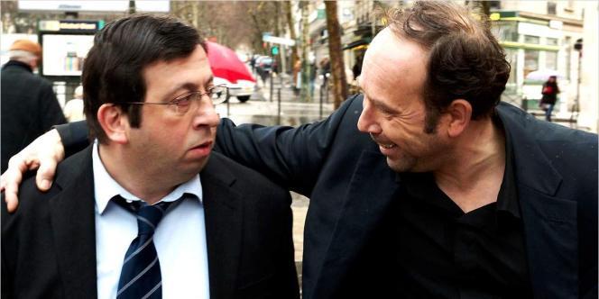 Michel Muller et Olivier Gourmet dans le film français de Michel Muller,