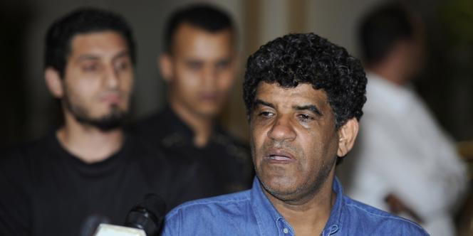 L'ex-chef des renseignements libyens Abdallah Al-Senoussi, le 21 août 2011, à Tripoli.