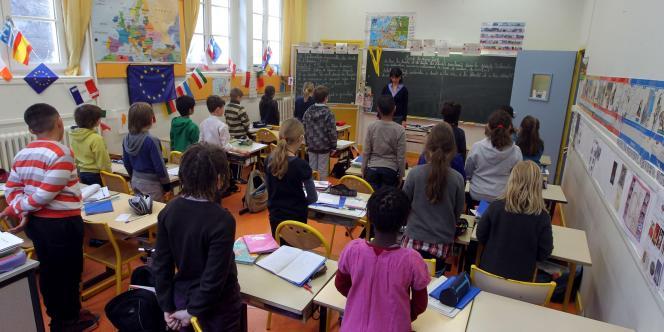 Une minute de silence a été observée mardi dans toutes les écoles de France.