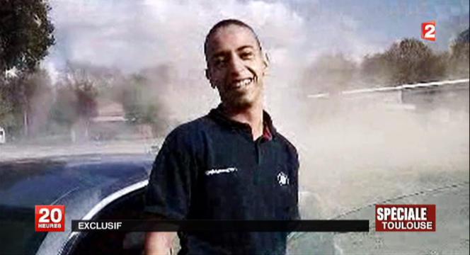 Mohamed Merah, ici sur une capture d'écran issue d'images de France 2.