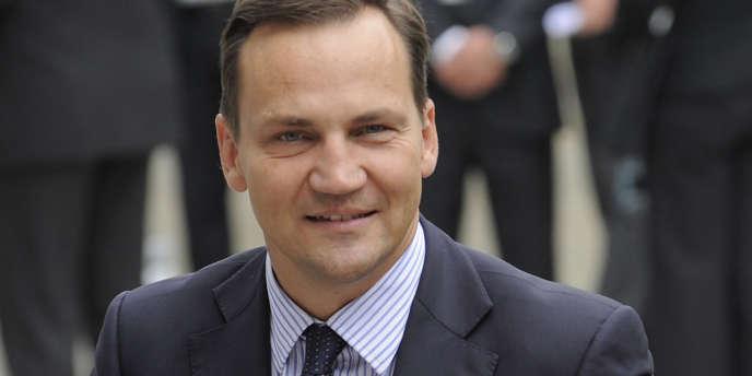Radek Sikorski, ministre polonais des affaires étrangères, en septembre 2010, à Bruxelles.