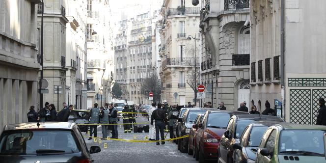 L'explosion n'a pas fait de blessés, mais a occasionné d'importants dégâts.
