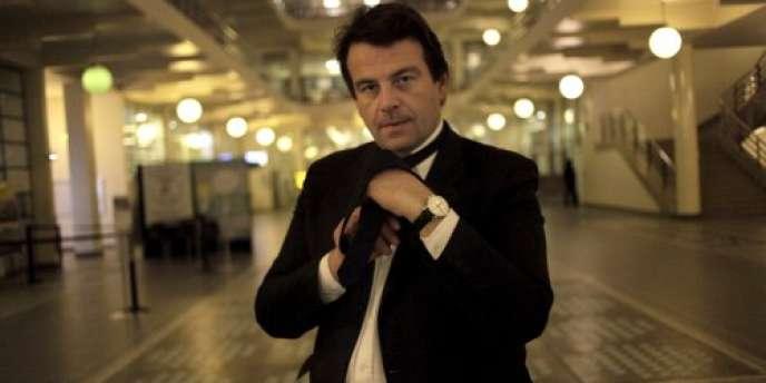 Thierry Solère, député (app. UMP) des Hauts-de-Seine.
