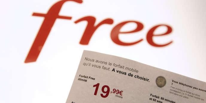 Free a bousculé le monde de la téléphonie mobile en janvier 2012, avec deux forfaits défiant toute concurrence, l'un à 19,99 euros et le second à 2 euros par mois.