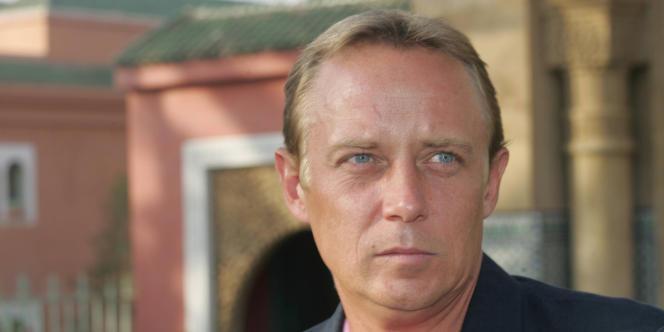 Jean-Charles Brisard, enquêteur, expert en terrorisme, a Marrakech le 9 aout 2006.