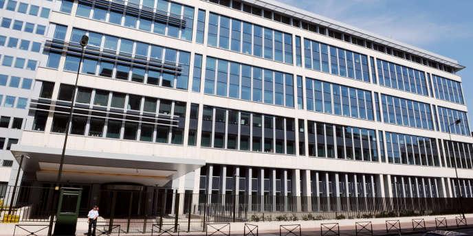 L'immeuble de la DCRI à Levallois-Perret.