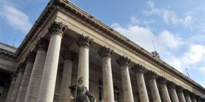 Le Palais Brongniart, à Paris.