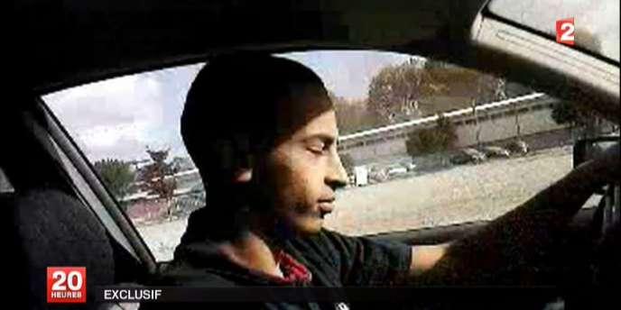 Vidéo diffusée sur France 2, seules images connues de Mohamed Merah.