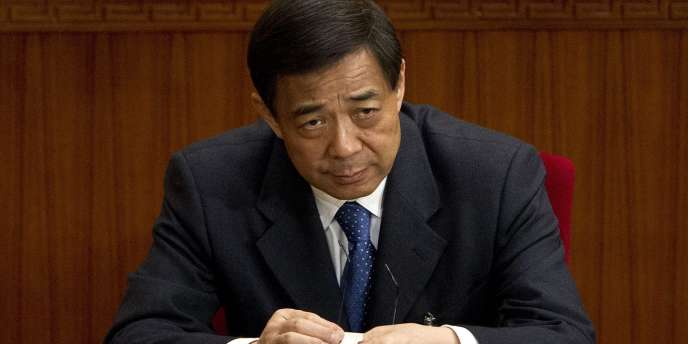 Bo Xilai, à Pékin, le 11 mars 2012.