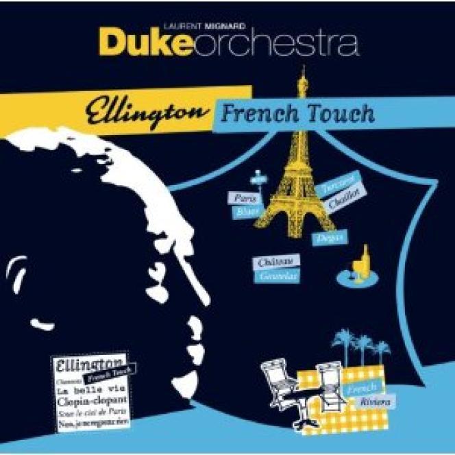 Pochette de l'album de Laurent Mignard Duke Orchestra,