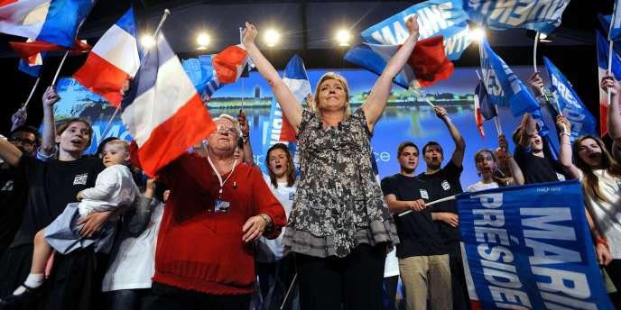 Marine Le Pen a déclaré vouloir