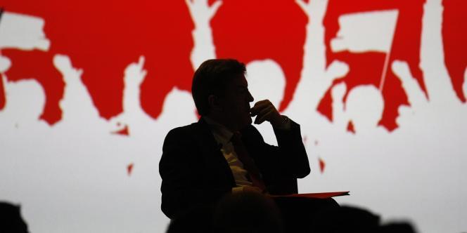 Le meeting de Jean-Luc Mélenchon à Lille, le 27 mars, avait réuni 23 000 personnes.