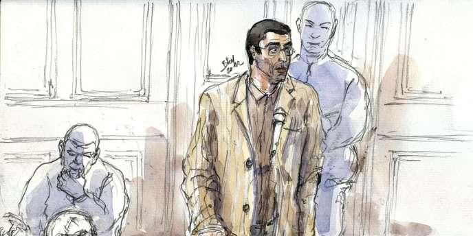 Adlène Hicheur a été condamné à quatre ans de prison ferme pour avoir évoqué dans des échanges de mails des projets d'attentats sur le sol français.