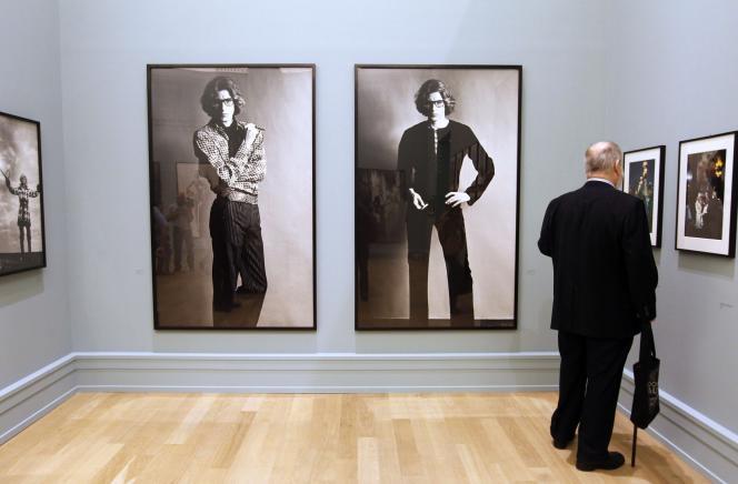 Photographies d'Helmut Newton intitulées