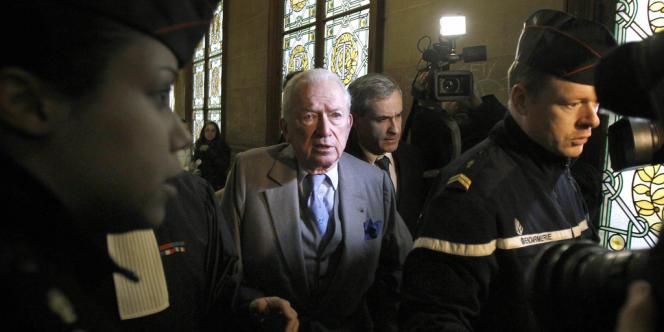 Jean-Paul Guerlain, au Palais de justice de Paris, le 9 février 2012.
