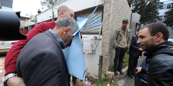 Le père de Mohamed Merah, le 27 mars à Alger.