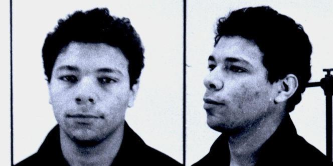 Photographies de Khaled Kelkal en 1990, fournies par la police.