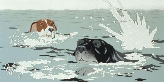 Une image du film d'animation britannique de Martin Rosen,