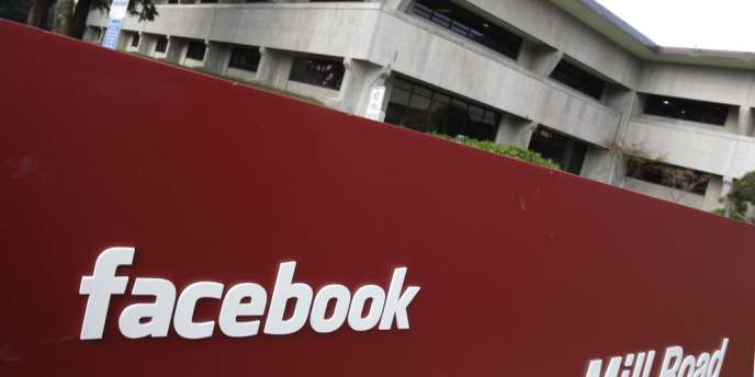Le siège de Facebook à Palo Alto, en Californie.