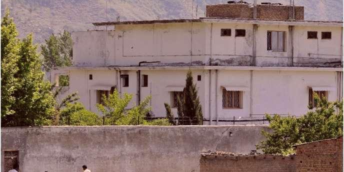 La dernière maison d'Oussama Ben Laden à Abbottabad, au Pakistan, ici en mai 2011.