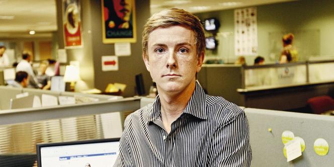 Avec sa mèche blonde et ses yeux bleus, Chris Hughes a des airs de premier de la classe.