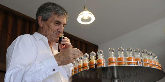 Jean-Claude Ellena, 64 ans, nez d'Hermès.