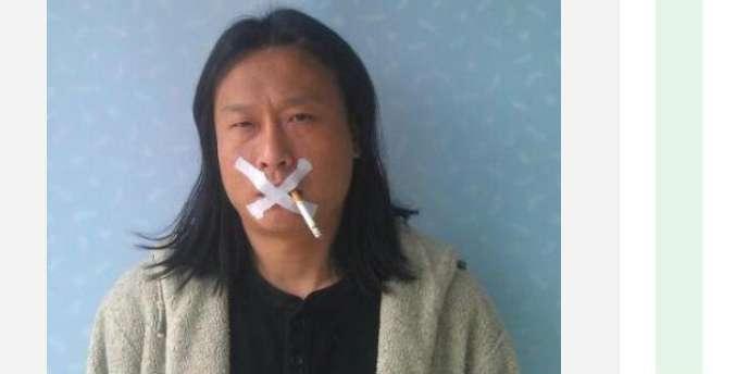 Sur son site Internet, l'artiste Wu Wenjian a diffusé une série d'autoportraits en guise de protestation contre la censure des microblogs.