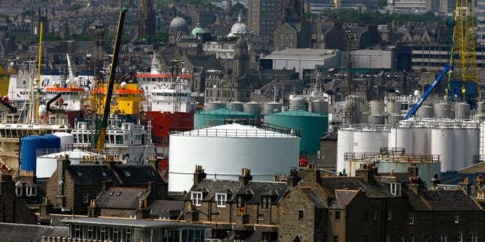Les docks d'Aberdeen, en Ecosse. Un habitant sur cinq travaille dans le secteur du pétrole et ses dérivés.