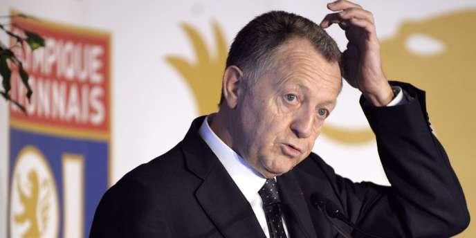 Jean-Michel Aulas, le 7 décembre 2009 à Lyon.