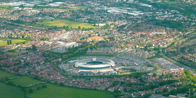 Le siège du Government Communications Headquarters, dans le Gloucestershire.